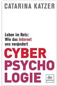 Buchcover Carina Katzer - Cyberpsychologie