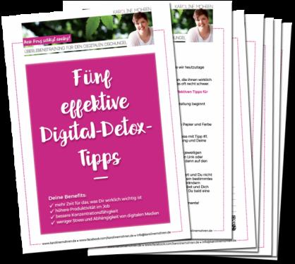 5 effektive Digital-Detox-Tipps
