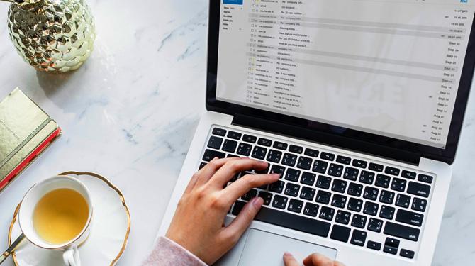 Titelbild Wie Du weniger Zeit mit E-Mails verbringst